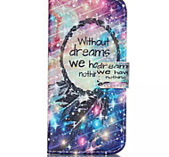 Star Dreamcatcher Pattern PU Leather Phone Case For iPhone 6