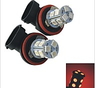 2PCS Carking™ H8/H11 1.5W 13x5050SMD 125ML Car Rear Fog Light Bulb(DC 12V)
