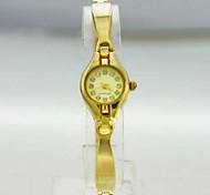 Women's Analog Copper Case Round Dial Copper Band Japan Quartz Watch Women Fashion Watch Ladies Watch