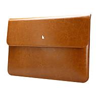 "Jisoncase portatile doppia cartella di cuoio di colore per apple Mac Book Air 11.6 """