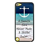 Seewelle Leder Venenmuster Hartschalenetui für iPod touch 5