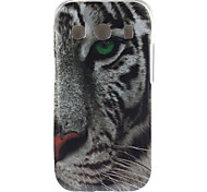 witte tijger patroon TPU zachte hoes voor Samsung Galaxy Ace stijl lte g357 / ace 4 g357fz