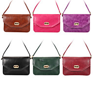 Multipurpose Cell Phone PU Leather Bag for iPhone,Samsung Galaxy with Screen Smaller than 6.3''(Assorted color)
