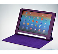"""Solid Colors High Quality PU Leather Cases With Stand Full Body Cases 10"""" for Lenovo Yoga B8080 (Assorted Color)"""