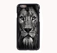 Lion Face Design Aluminum Hard Case for iPhone 6