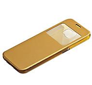 Samsung Handy - Samsung Samsung Galaxy S6 edge - Hüllen (Full Body) - Einfarbig/Transparent Plastik/PU Leder )