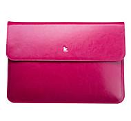 "Jisoncase portatile doppia cartella di cuoio di colore per apple Mac Book Air 13.3 """