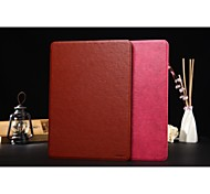 cubierta elegante de la caja de cuero de la PU delgada zapatero de lujo soporte para Apple Mini iPad 1/2/3 (color clasificado)