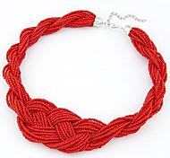 Cusa Bohemia Hand-woven Necklace