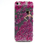 Special Design  Ultra Slim TPU 3D Print for iPhone 5/5S