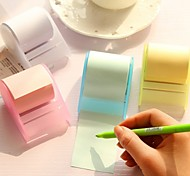 Adhesive Tape Roll of Paper Post-It note Creative N Stick (Random Color)