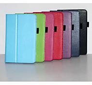 vendita top casi pu cuoio di vibrazione del corpo intero con la funzione del basamento per Dell Venue 8 (colori assortiti)