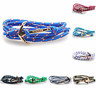 Bracelet/Anchor Bracelet,Handmade Inspirational Bracelets for Men/Women Fashion Friendship Bracelet Jewelry