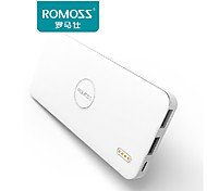 5000mAh ROMOSS Polymos 5 Portable Charger External Battery Pack Power Bank Fast Charging for Mobile Phones