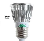 zweihnder GU10 / E27 5W 400lm 5500-6000 / 3000-3500K 5xleds lumière blanche chaude de projecteur blanc (AC 110-240V)