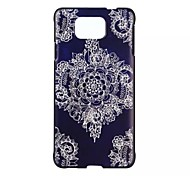 Corners Diamond Pattern PC Material Phone Case for Samsung Galaxy Alpha G850 / J1/ J5
