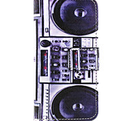 Lautsprecher-Muster PU-Leder gemalt Telefonkasten für iphone 5/5 s