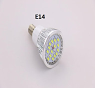 Focos MR16 E14 7 W 15 SMD 5630 650 LM Blanco Fresco AC 85-265 V