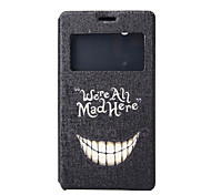 Tooth Pattern PU Material Full Package Phone Case for Sony C4