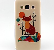 For Samsung Galaxy Case Pattern Case Back Cover Case Animal TPU Samsung A5 / A3