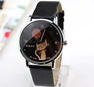 Women's Cute Butterfly Cat Belt Watch Cool Watches Unique Watches