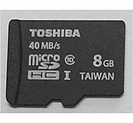 TOSHIBA 8GB Class10 40M/S High Speed Memory Card