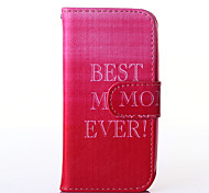 Pink Sky Pattern PU Leather Full Body Case with Stand for Multiple Samsung Galaxy S5Mini/S4Mini/S3Mini