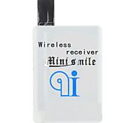 qi design leve carregador sem fio receptor de alta qualidade minismile ™ compacto ultra-fino de carregamento para Samsung Galaxy S4