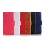 5.2 Inch PU Wallet Leather Case with Stand for Sony Z4 (Assorted Colors)