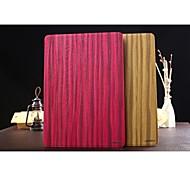 zapatero Modelo del árbol 3d cuero de la PU dura cubierta de la caja en folio con el soporte para el aire de Apple IPAD (colores surtidos)