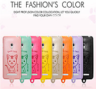 Leiers Dimicat case pu leather and tpu following whole package case for Asus ZhenFeng5/Lite A502CG