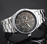 Men's European Style Fashion New with Calendar Steel Watch