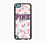 Butterfly Design Aluminum High Quality Case for iPod Touch 5