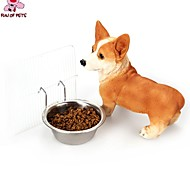 FUN OF PETS®Durable Stainless Steel Hanging Feeding Bowl for Pets Dogs(Assorted Sizes)