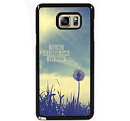You Are Strong Than You Think Design Slim Metal Back Case for Samsung Galaxy Note 3/Note 4/Note 5/Note 5 edge
