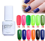 Sequins UV Color Gel Nail Polish No.73-84 (5ml, Assorted Colors)