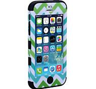 cubierta de la caja de la armadura 5c apple iphone (colores surtidos)