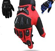 Guantes de moto Dedos completos Nailon/Poliéster/Licra M/L/XL Rojo/Negro/Azul