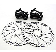 Bicycle Brake Disc Brake Set For MTB Mountain Bike Front + Rear 160mm Cycling Accessory
