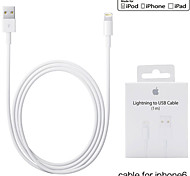 3.3ft(1M) MFI Certified Lightning to USB Sync and Charge Cable for Apple iPhone 5/5s/ 6/6 Plus/ iPad mini