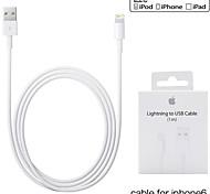 3.3ft (1m) mfi foudre certifié de synchronisation USB et le câble de charge pour Apple iPhone 5 / 5s / 6/6 plus / ipad mini-