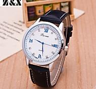 relógio de forma simplicidade de quartzo cristal de rocha roamer pulso analógico decisão das mulheres (cores sortidas)