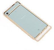 Stylish Pull-out Protective Aluminum Alloy Bumper Frame Case for Sony Xperia Z4/Z3+  (Assorted Colors)