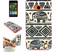 Elephant  Pattern TPU + IMD Phone Case For Nokia N640