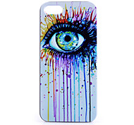 Eye Pattern PC Material Phone Case for iPhone 5C