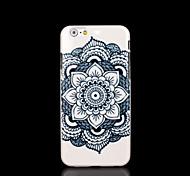 couvrent modèle mandala de fleur aztèque pour l'iphone 6 cas pour iphone 6