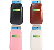 Good Quality PU Leather Full Body Cases Shatter-Resistant Case Wallet Case for iPhone 4/4S (Assorted Colors)