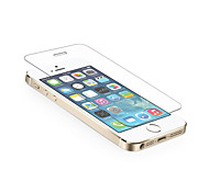 0.3mm ausgeglichenes Glas-Schirm-Schutz mit Mikrofasertuch für iPhone 5/5 s