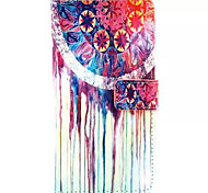 Watercolor Pattern PU Leather Phone Case For Huawei P8