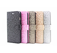 2015 Newest Flip Cover Stand Card Slot Diamond Fashion Mobile Phone Shell for iphone4/4S Assorted Colors